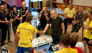Final - Oscar Henriksson mot Lars Fridell